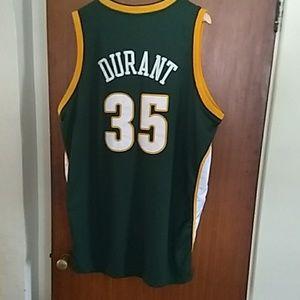 Kevin Durant Seattle Supersonics men's size 56